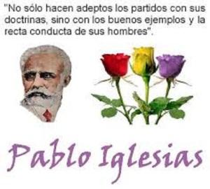 Pablo Iglesias, pero el fundador del PSOE