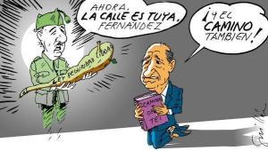"""Fernández Díaz, un ministro """"ejemplar"""" por su """"respeto"""" con los derechos y libertades de la ciudadanía."""