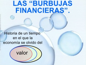La burbuja financiera