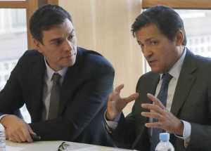 Javier Fernández reconoce el liderazgo de Pedro Sánchez