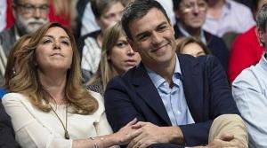 La cara de Susana Díaz dicen todo de su relación con Pedro Sánchez, y ello forma parte de este anticipo y de lo que se va a hablar en la campaña