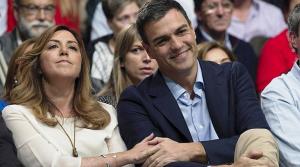 Susana Díaz y Pedro Sánchez, un matrimonio político mal avenido