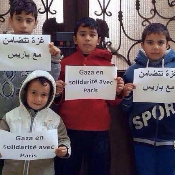 Gaza est Charlie