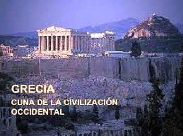 Grecia, cuna de la civilización europea y mundial, lugar donde nació la democracia, a la que la Troika amenaza con expulsarla de la Eurozona ante la convocatoria de un referéndum