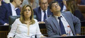 Susana Díaz y Diego Valderas, la escenificación de una desafortunada ruptura