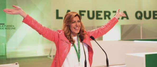 Susana Díaz, autotriunfadora de todo