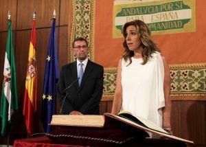 Toma de posesión por Susana Díaz de la presidencia de la Junta de Andalucía