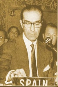 Alberto Ullastres, supernumerario del Opus, otro de los artífives del Plan de 1959