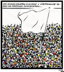Criticaron el 15-M porque no se presentaba a las elecciones y no daban la cara creando un partido. Ahora que lo hacen tampoco les gusta `Podemos´