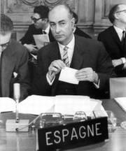 Mariano Rubio Navarro, ministro de Hacienda con Franco coartífice del Plan de Estabilización de 1959