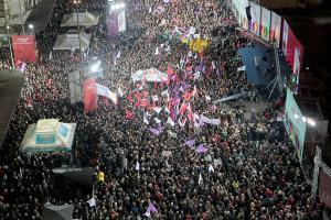 LO más parecido al entusiasmo de los griegos por el triunfo de Syriza, ha sido el entusiasmo habido en Madrid con la Marcha del Cambio