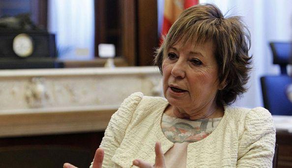 Celia Villalobos. Foto aparecida en Publicoscopia