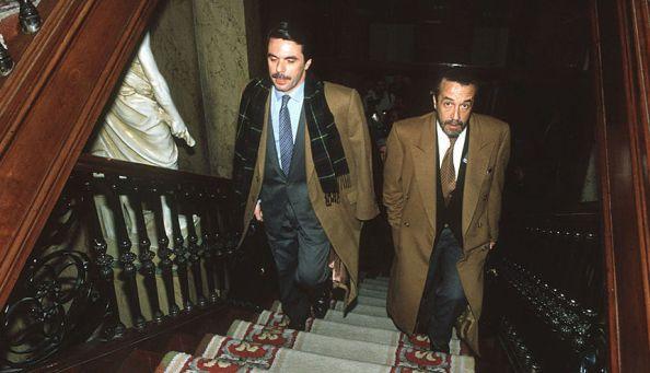 Pedro Arriola y José María Aznar