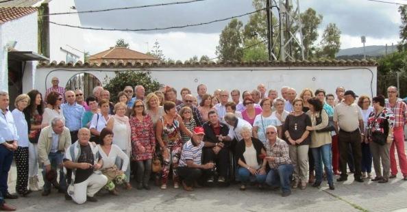Reencuentro de los dos Clubes en Jimena, casi medio siglo después. 12 de Octubre 2014.