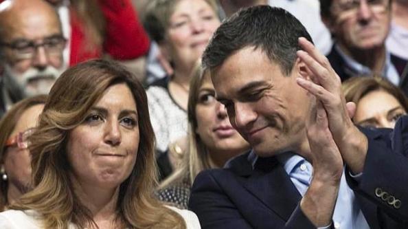 Pedro Sánchez, junto a Susana Díaz lo aupó, pero donde su bicefalia deseada no resultó y hoy las espadas siguen en alto pero para batirse tras el 20-D