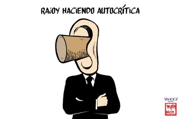 LA inexistente autocrítica en Rajoy. Un don Tancredo, siempre pasivo e inmovilista.
