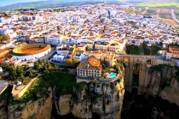 Vista panorámica de Ronda (Málaga)