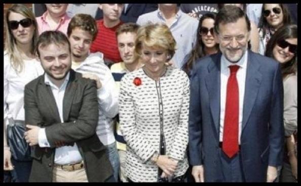 Carromero Aguirre y Rajoy,