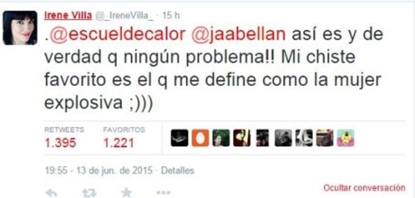 Irene Villa, víctima del terror, buena persona, ejemplo de buen humor y entereza