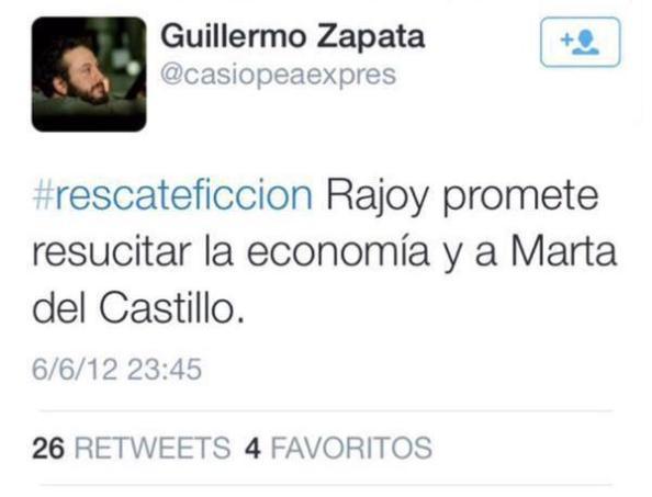 Sobre Rajoy y una víctima de asesinato