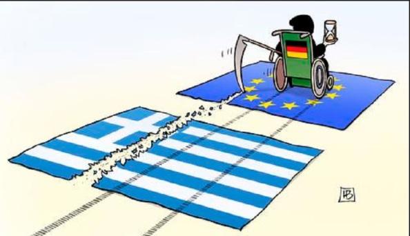 Alemania arrasa Grecia y la Eurozona