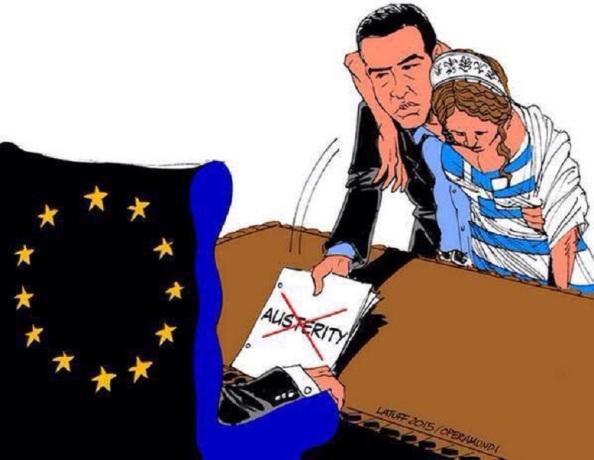 Una Grecia extenuada, a la que se le exige más extorsiones
