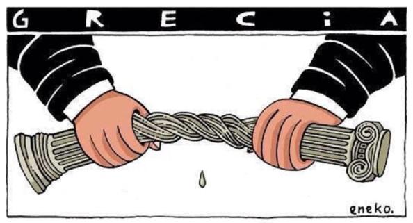 Estrujar a Grecia