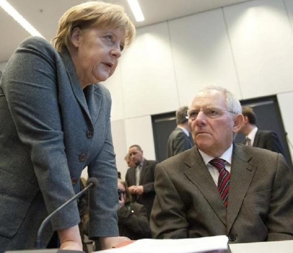 Los autores de un nuevo genocidio lesa humanidad con Grecia: Merkel y Schauble