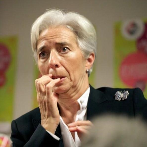 La cara de Lagarde la noche del referéndum griego, todo un poema