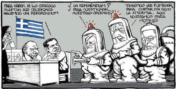 Ya lo advirtió la ministra de Rajoy, la señota Tejerina, y así lo vio la Troika: las urnas son muy peligrosas