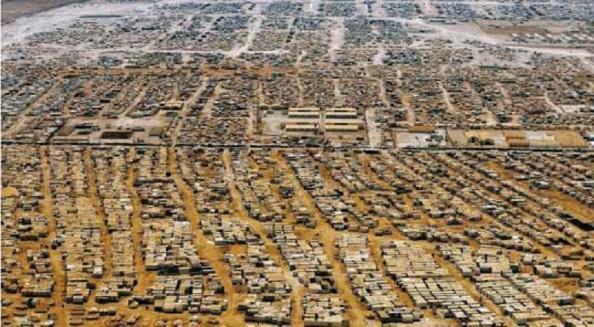 Campos de acogidas en Oriente Medio de sirios huyendo de la guerra