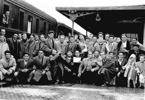 Emigración laboral a Alemania, finales década de los cincuenta y en la década de los sesenta del siglo pasado