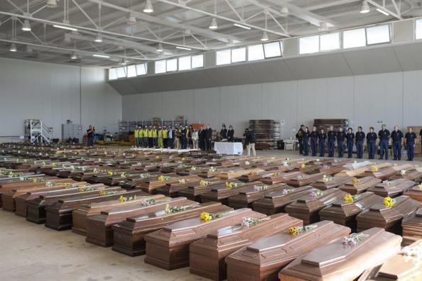 El Mediterráneo convertido en la `Tumba Nostrum´. En Lampedusa 94 muertos y más de 250 desaparecidosel pasado día 17 de agosto,es el drama diario