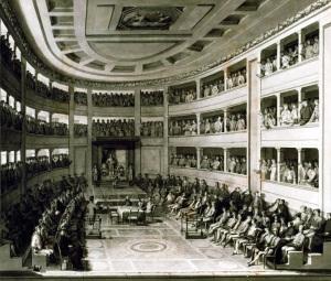 Cortes de Cádiz en el Teatro