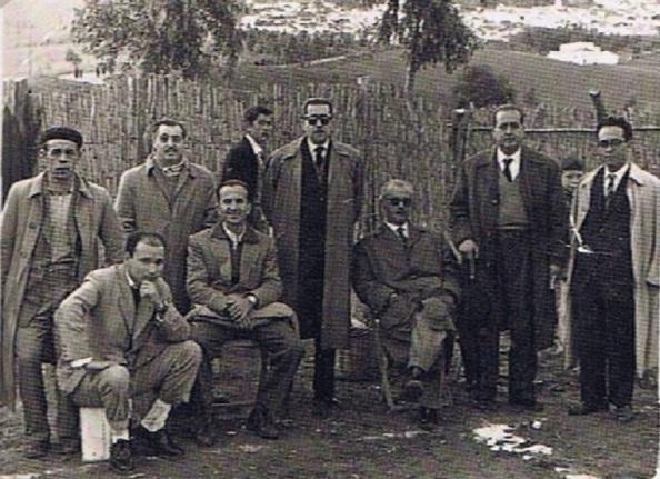 Miembros de la Junta Directiva fundacional del equipo de fútbol, Jimena, CD.