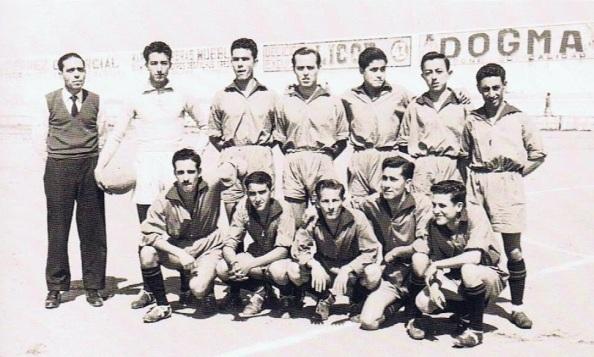 El equipo de Jimena. 1958