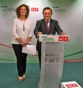 Miguel Ángel heredia y Pilar Serrano.