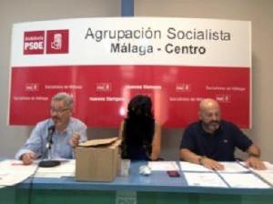 Rafael Granados y José Luis Cámara. Agrupación Centro