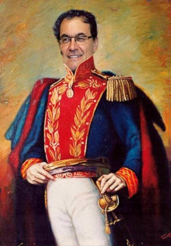 Artur Mas, libertador de la patria catalana