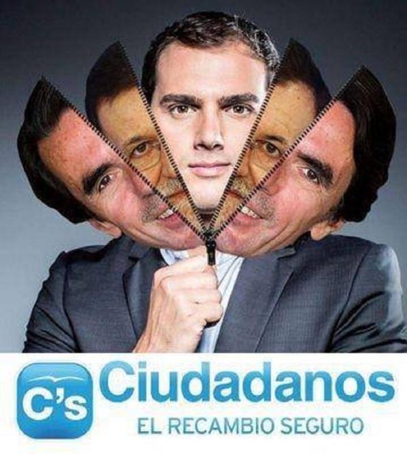 `Ciudadanos´, con sus buenos resultados obtenidos en Cataluña, ya la misma noche del 27S su líder, Albert Rivera, se autoproclamó ser el recambio político al PP a nivel de todo el Estado español.