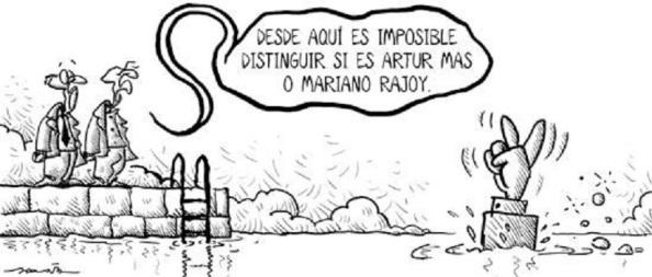 Ya, la misma noche electoral, mostraba a un Mariano Rajoy y a Artur Mas, con nula voluntad de diálogo al sobresaltar que cada uno había triunfando sobre el adversario.