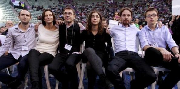 El grupo de profesores fundadores de Podemos
