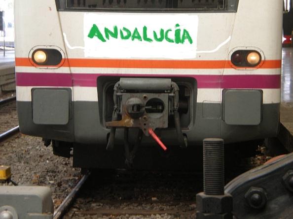 `Desconectada¨ la locomotora de Andalucía