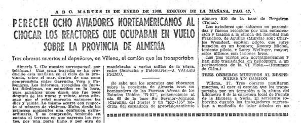 Diario ABC Palomares