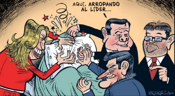 Hay amores que matan. LA BARONÍA DEL PSOE ARROPANDO A PEDRO SÁNCHEZ.... HASTA ASFIXIARLO