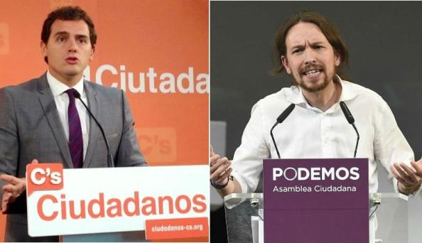 Podemos y Ciudadanos, las dos fuerzas emergentes que entrarán en el Congreso de Diputados