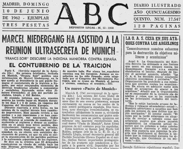 Crónica del diario ABC de esa Cumbre