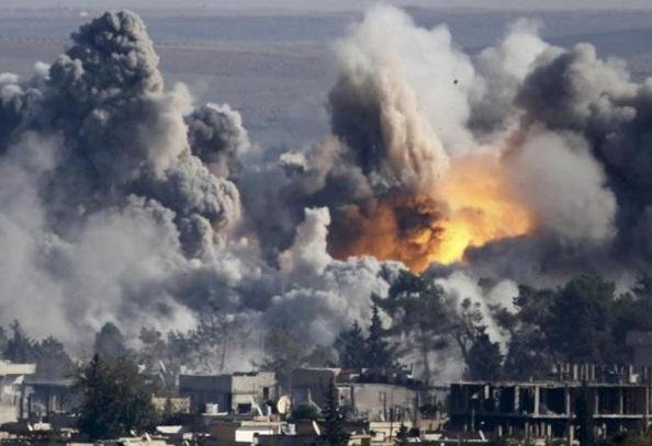 Bombardeo contra el Estado Islámico