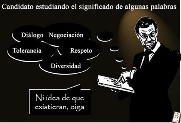 El PP, perdería el tiempo manteniendo sine die a un Rajoy que ya no pertenece a la cultura de pactos que corresponde al nuevo tiempo que se inicia