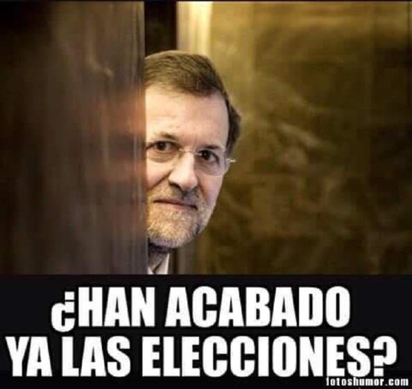 Un Rajoy que ha elegido estas fechas navideñas para la cita con las urnas de cara a que la campaña electoral pasara lo más desapercibida posible, pero que se le esta haciendo muy larga y donde sus temas favoritos, Cataluña o el terrorismo, no pueden ocultar la España de la desigualdad, de la precariedad laboral que deja, prácticamente con los mismos parados que dejó Zapatero ante los tres millones y medio de empleo que prometió en el 2011, con la mitad de la hucha de las reservas de pensiones y con una deuda pública que la ha hecho subir del 68% al 100% del PIB.